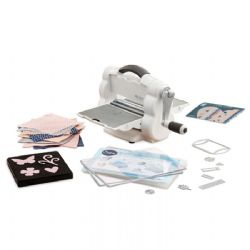 662220 - Sizzix Big Shot Foldaway Machine (White and Grey) with Free Bonus Content